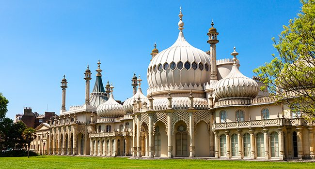Royal Pavilion Brighton sightseeing